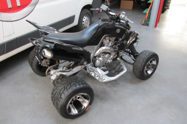 quad yamaha 700 raptor supermotard occasion. Black Bedroom Furniture Sets. Home Design Ideas