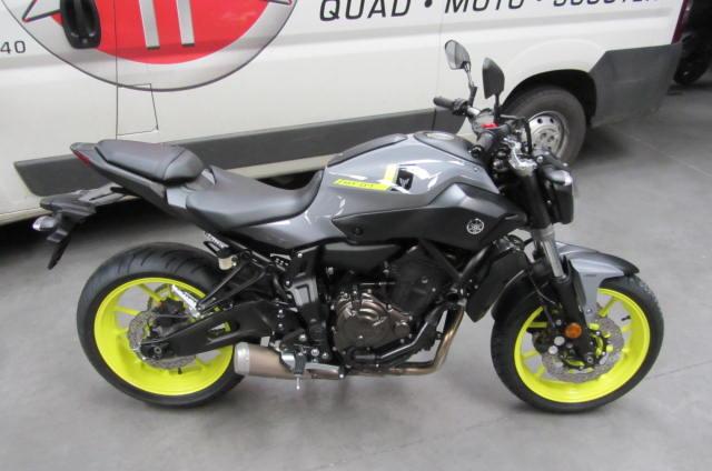 Moto Mt 07 Abs Yamaha 2017 Euro 4