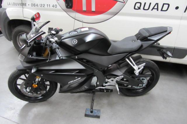 Yzf R125 Yamaha Matt Black